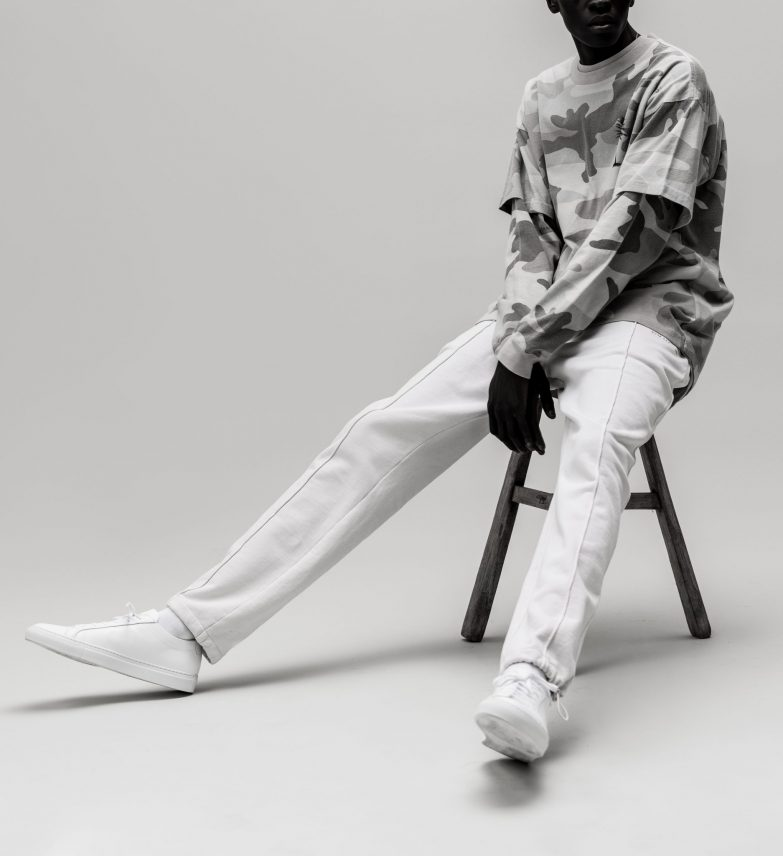 Stampd Travel Track Pants Campaign Picture