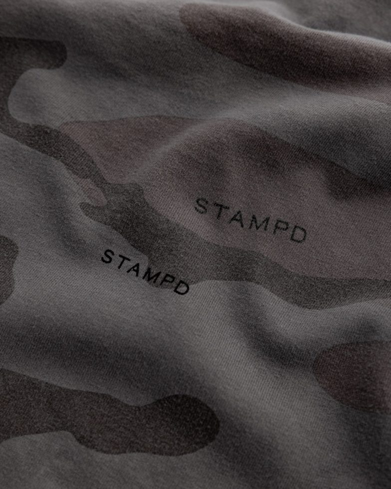 Stampd Camo Relaxed Tee Detail
