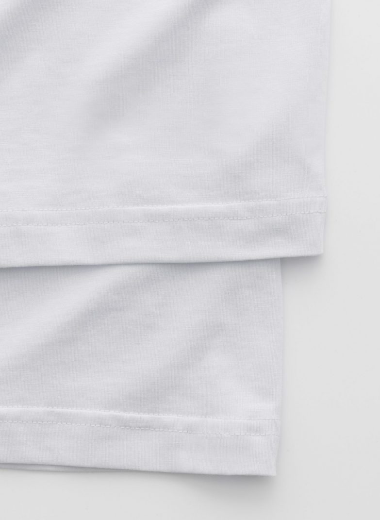 Stampd Double Layer Relaxed Tee Detail