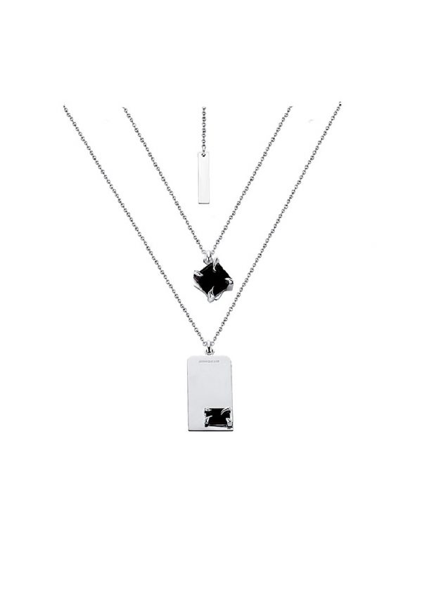 Juunngle Lab Flame Tag Necklace Cover Picture