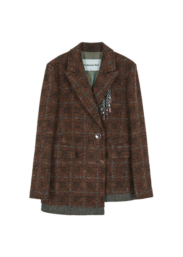 Andersson Bell Irina Two Button Jacket Front