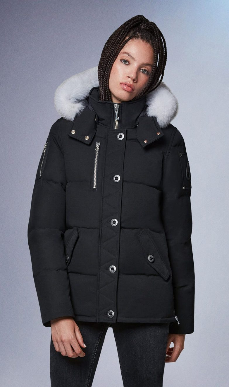 Moose Knuckles 3Q Jacket In Black/White Cover
